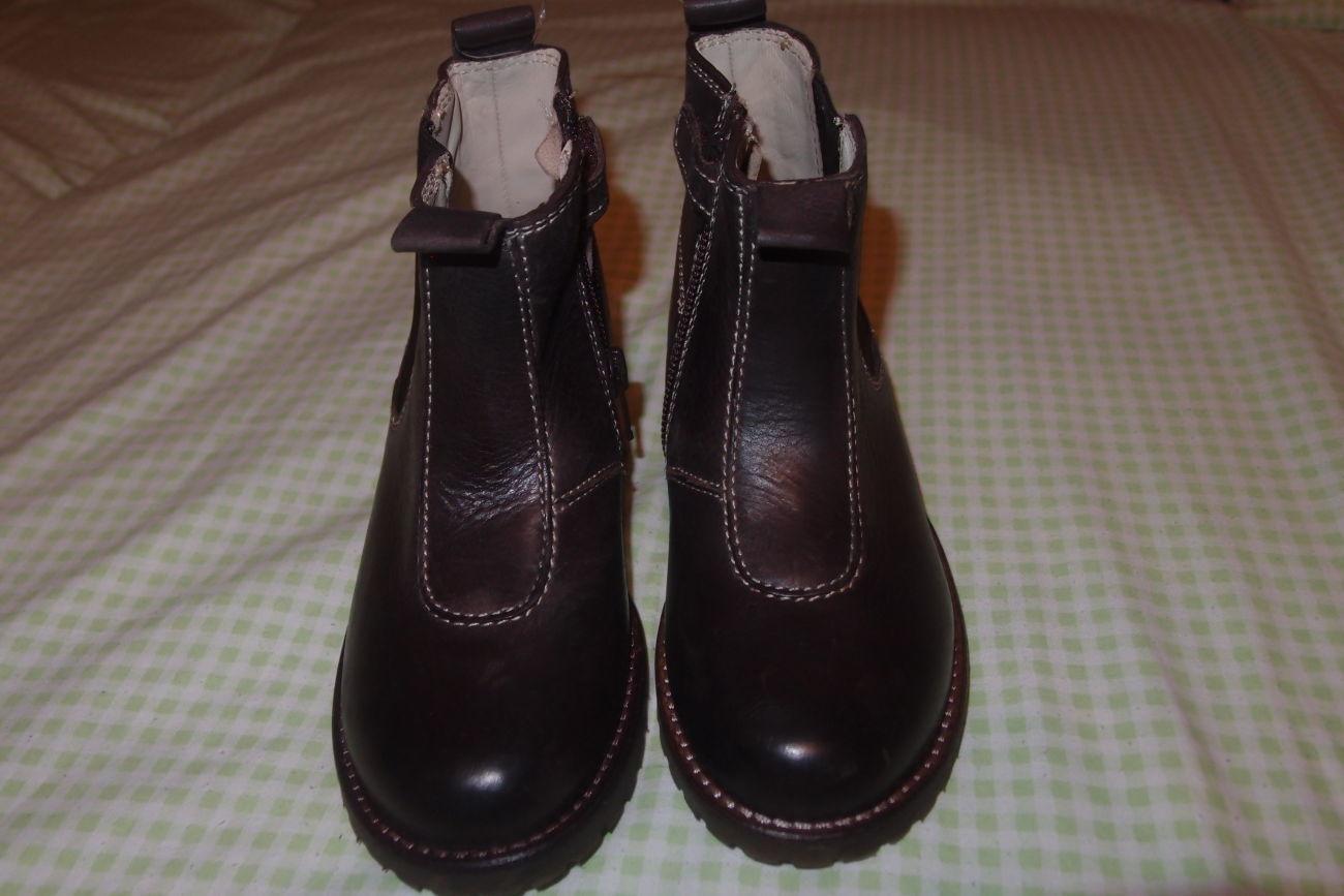 Фото 2 - кожаные ботинки 26 и 28 размеры тм chicco