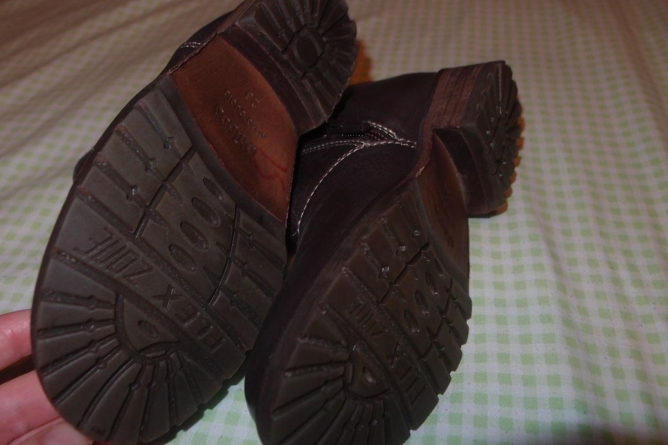 Фото 3 - кожаные ботинки 26 и 28 размеры тм chicco