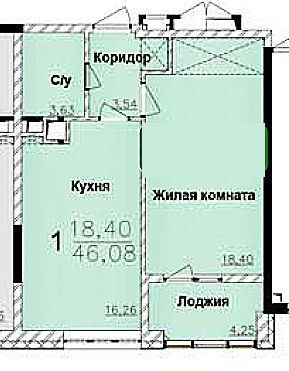 Фото 2 - ! Продам 2 комнатную квартиру