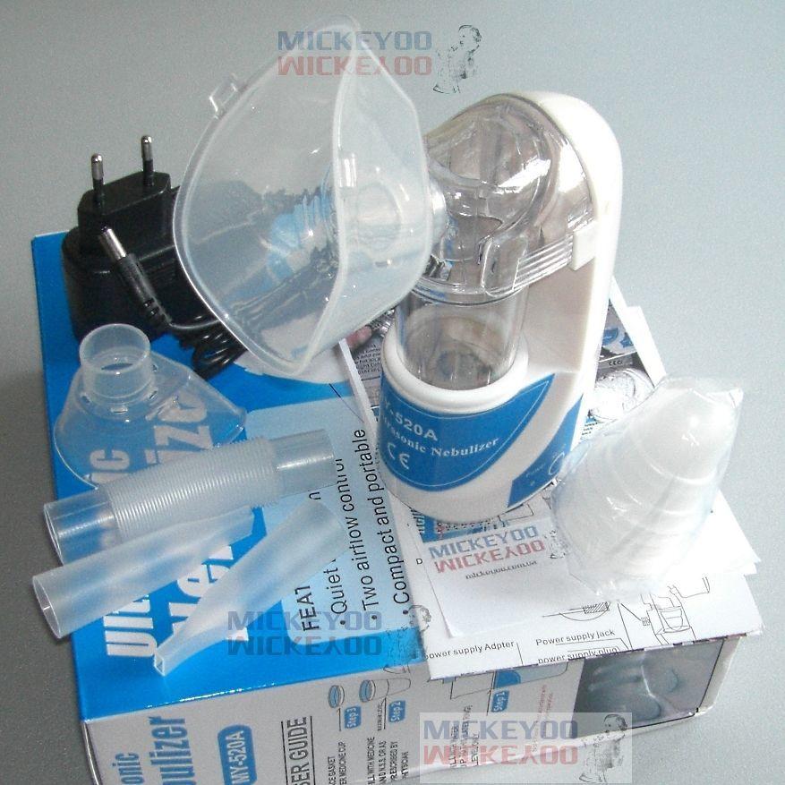 Фото - Бесшумный ингалятор ультразвуковой Mickeyoo MY-520A. Небулайзеры новые