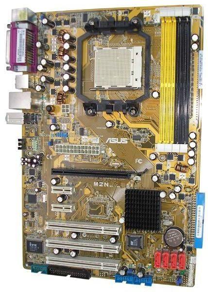 Фото - Плата AMD ASUS M2N SAM2 ПОНИМАЕТ ЛЮБЫЕ 2 ядра ПРОЦЫ X2 am2 с Гарантией