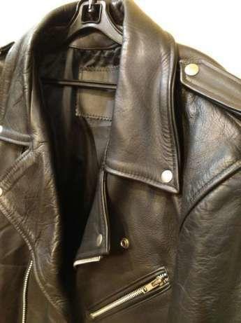 Фото - Мужская кожаная куртка(косуха), пр-во Великобритания
