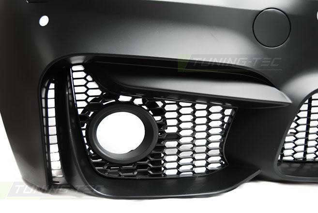Фото 3 - Бампер передний  BMW F30 10.11- M3 STYLE PDC (ZPBM32)