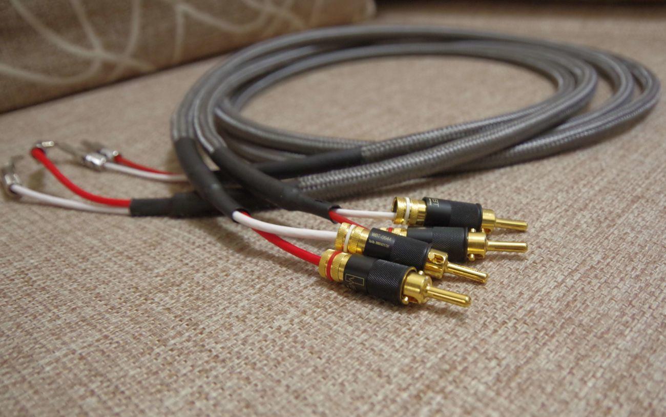 Фото - Продам акустический кабель Atlas Ascent ( bi-wire ) 2 метра.