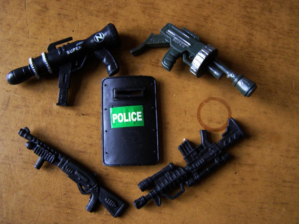 Фото - Набор оружия Полицейского (5 единиц)