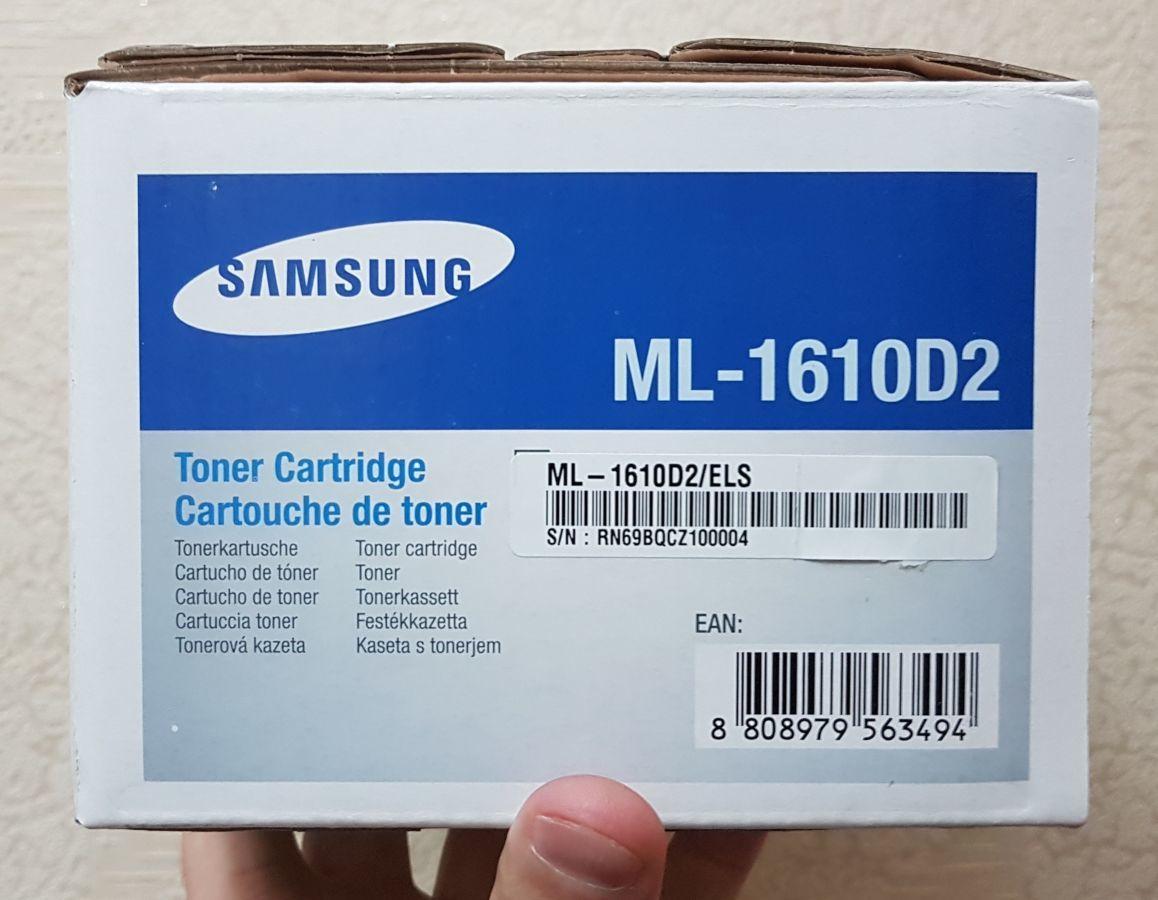 Фото - Оригинальный тонер-картридж Samsung ML-1610D2