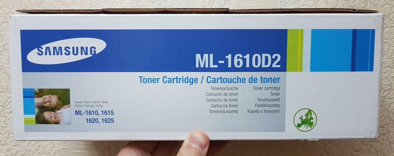 Фото 3 - Оригинальный тонер-картридж Samsung ML-1610D2