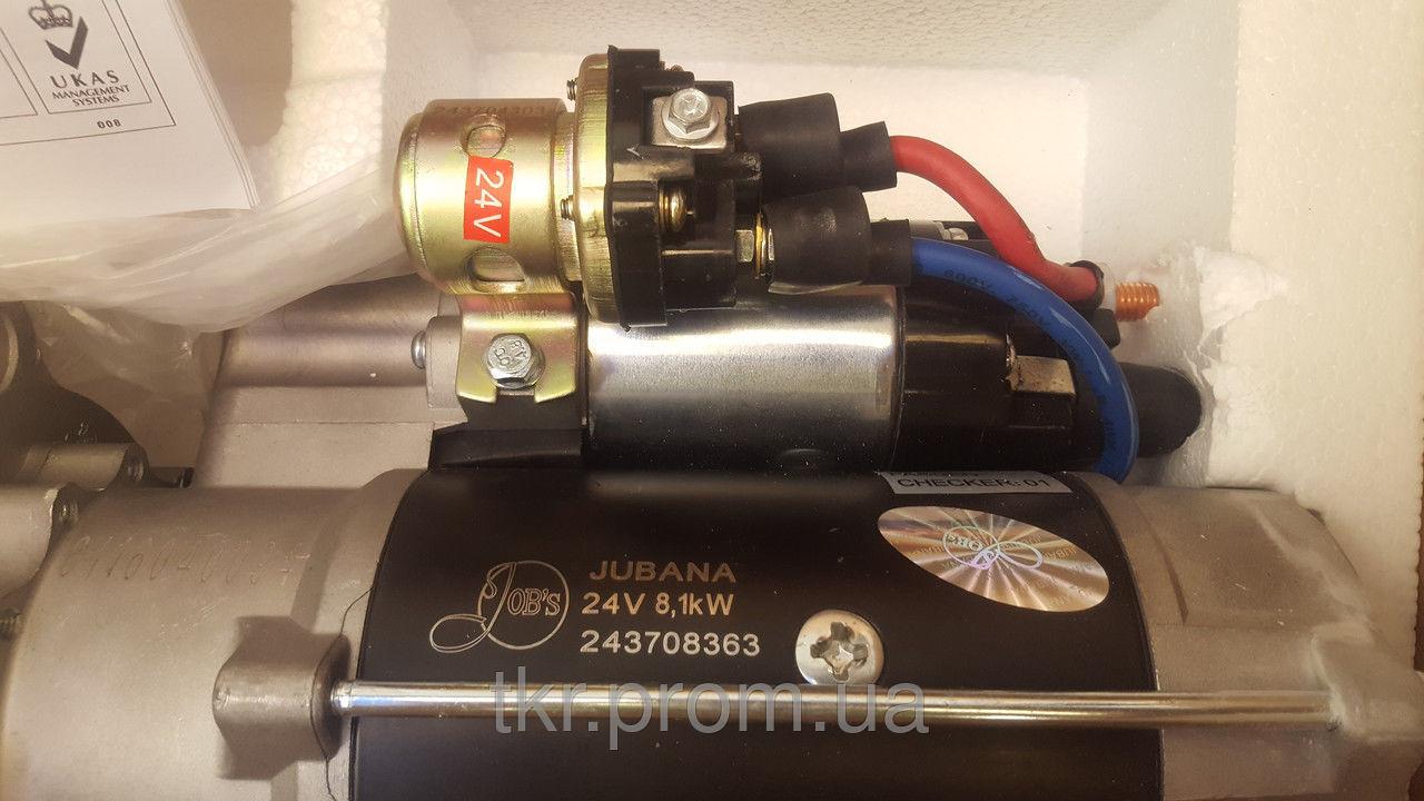 Фото 2 - Стартер редукторный Дон-1500Б/1500А 24В 8.1 кВт  пр-во Jubana