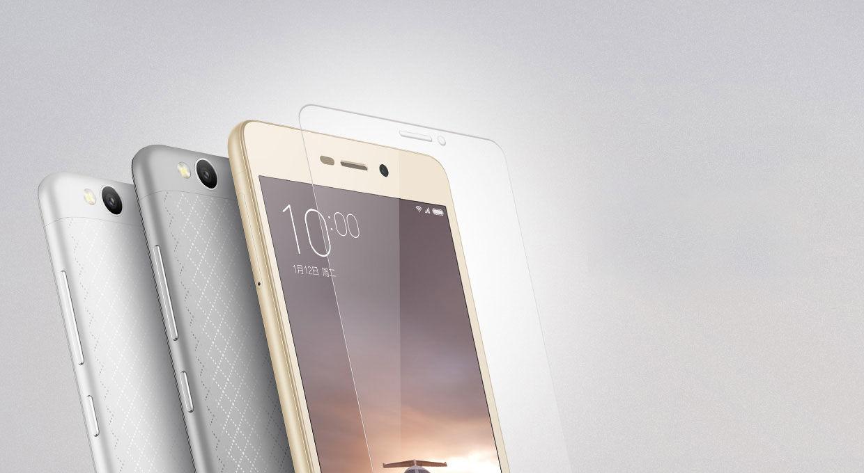 Фото - XiaoMi Redmi 3/3s защитное закаленное стекло