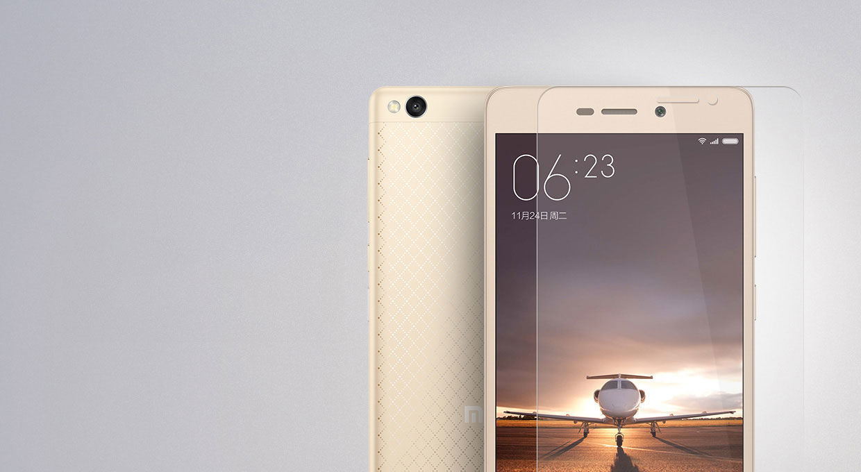 Фото 2 - XiaoMi Redmi 3/3s защитное закаленное стекло
