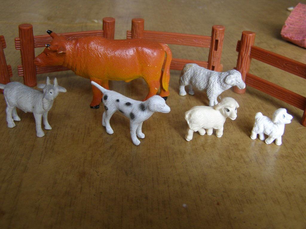Фото 4 - Набор фигурок Ферма 10 предметов