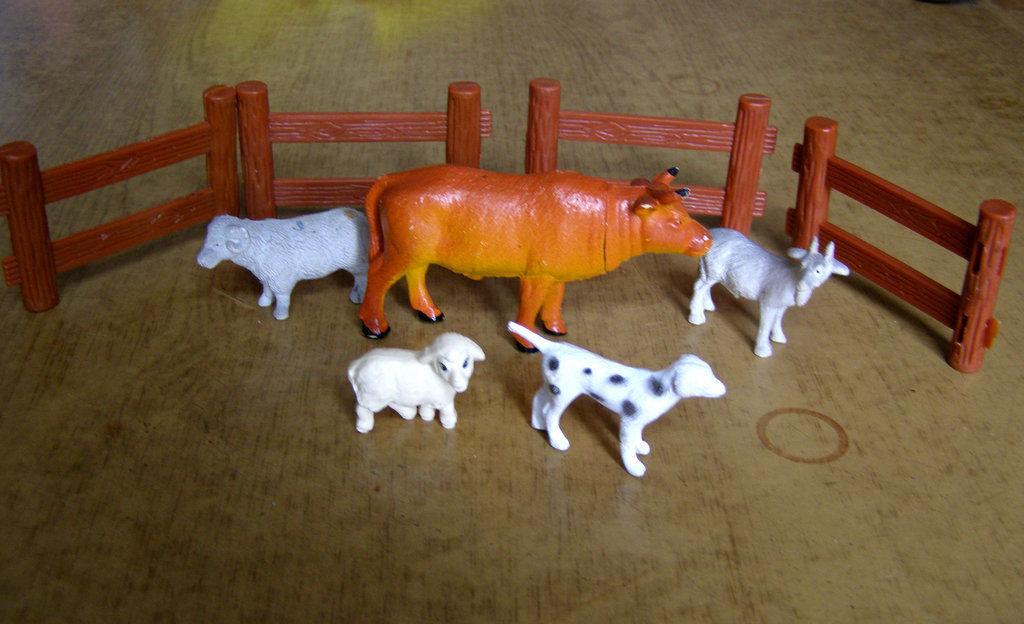 Фото - Набор фигурок Ферма 10 предметов