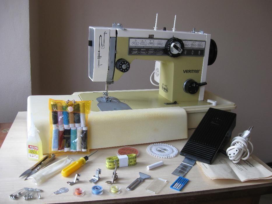 Фото - Швейная машина Veritas 8014-43 Германия, Кожа
