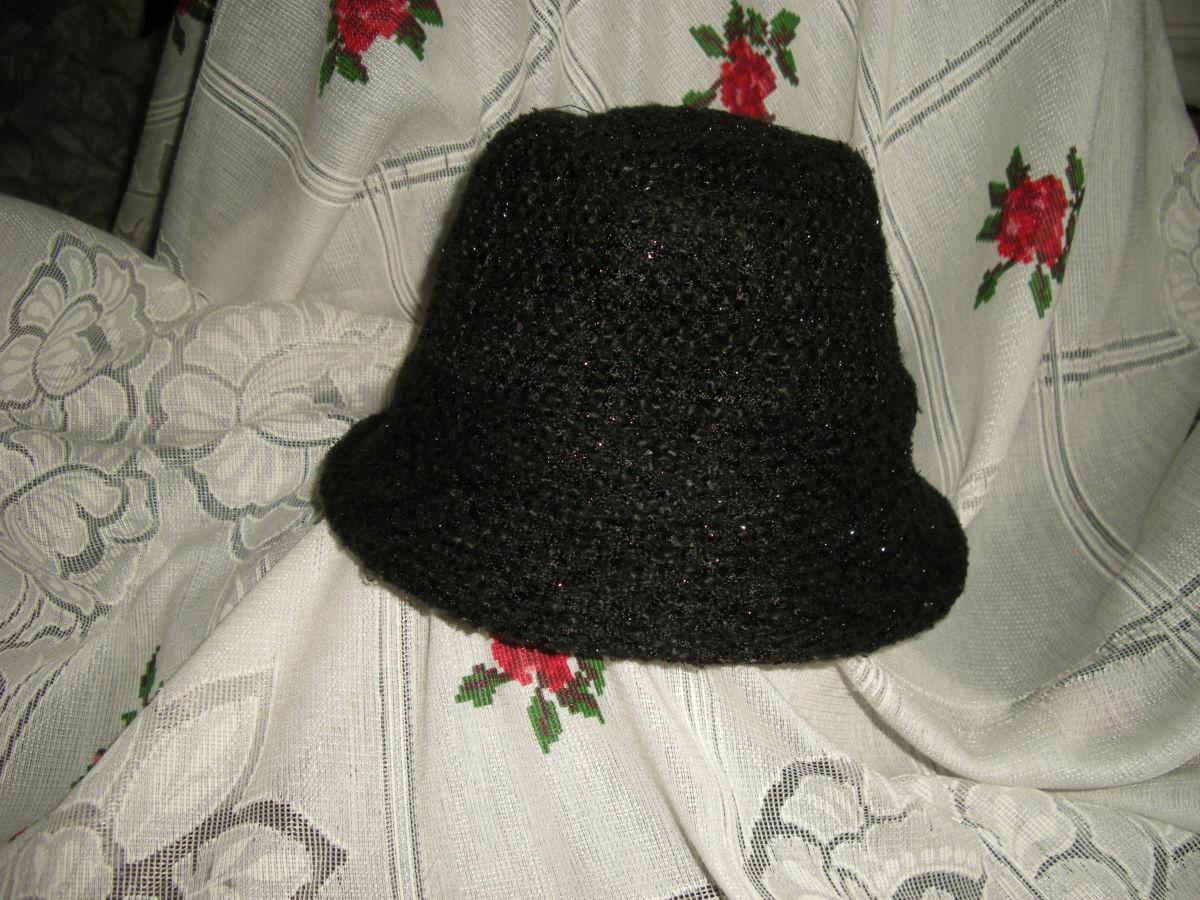 "Фото - Супер шляпа ""keer away from""55-56см."