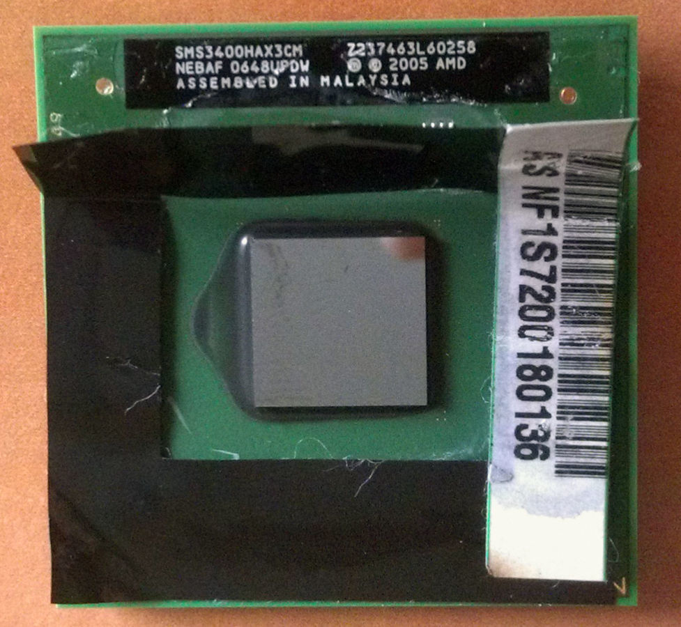 Фото - Процессор для ноутбука AMD Mobile Sempron 3400+