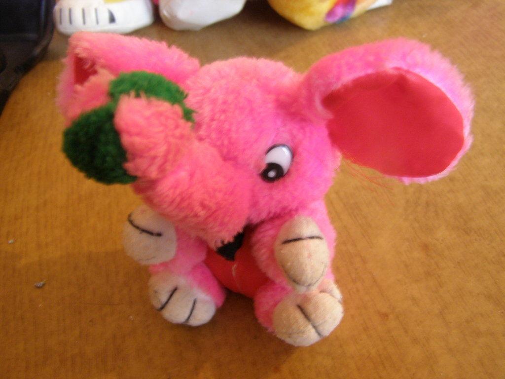 Фото - Мягкая игрушка Слоник