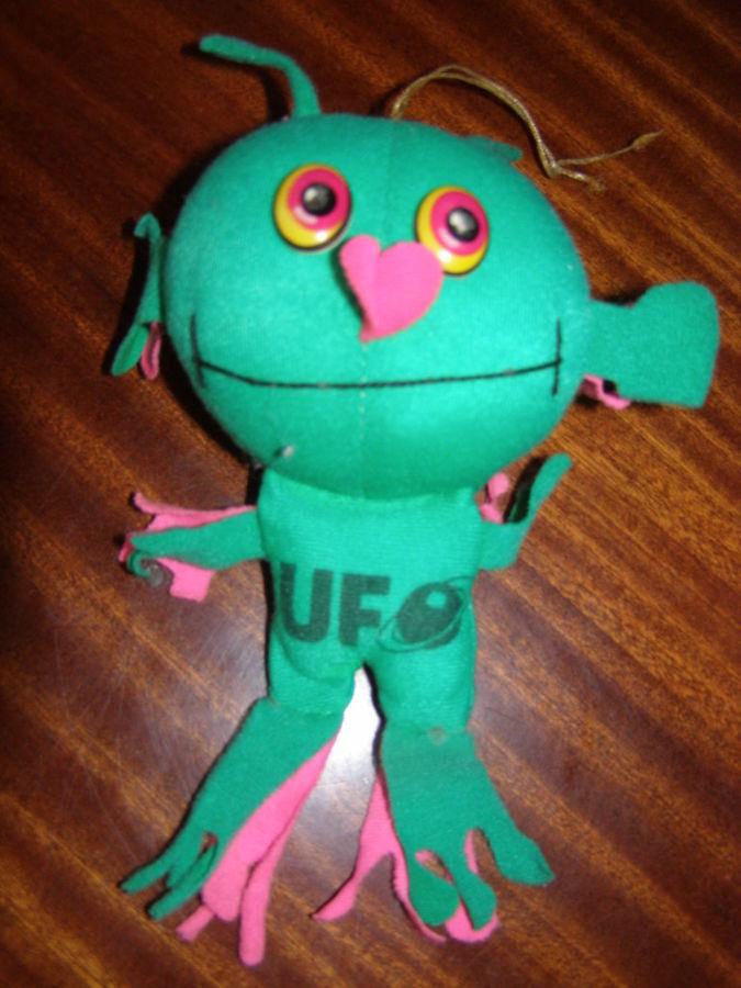 Фото 2 - Мягкая игрушка Инопланетянин