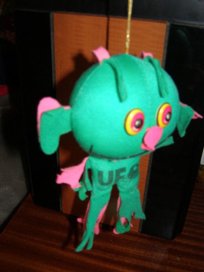 Фото 4 - Мягкая игрушка Инопланетянин