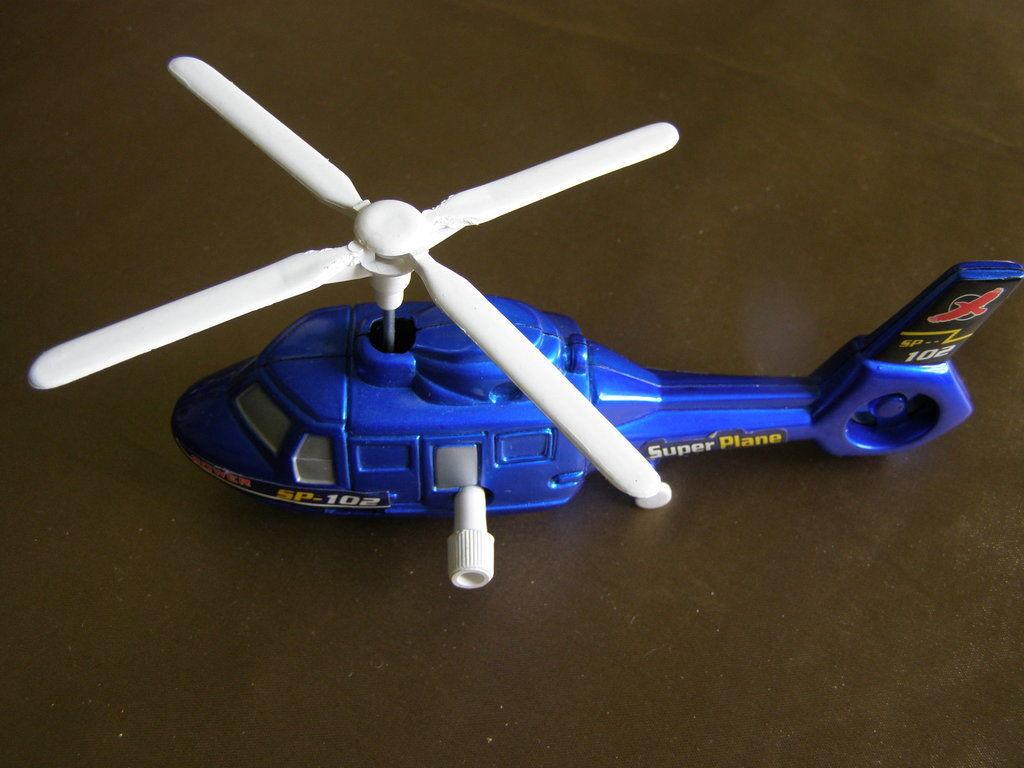 Фото 2 - Вертолет заводной 17х8 см