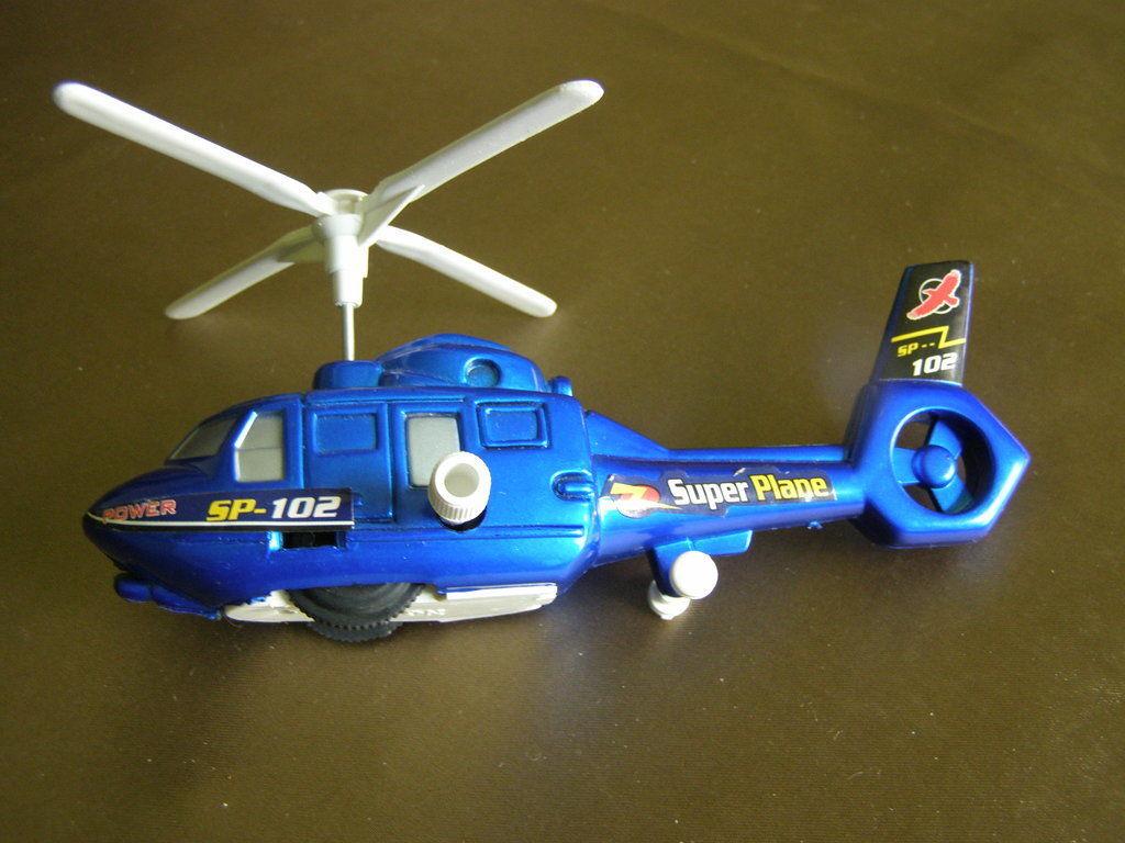 Фото - Вертолет заводной 17х8 см