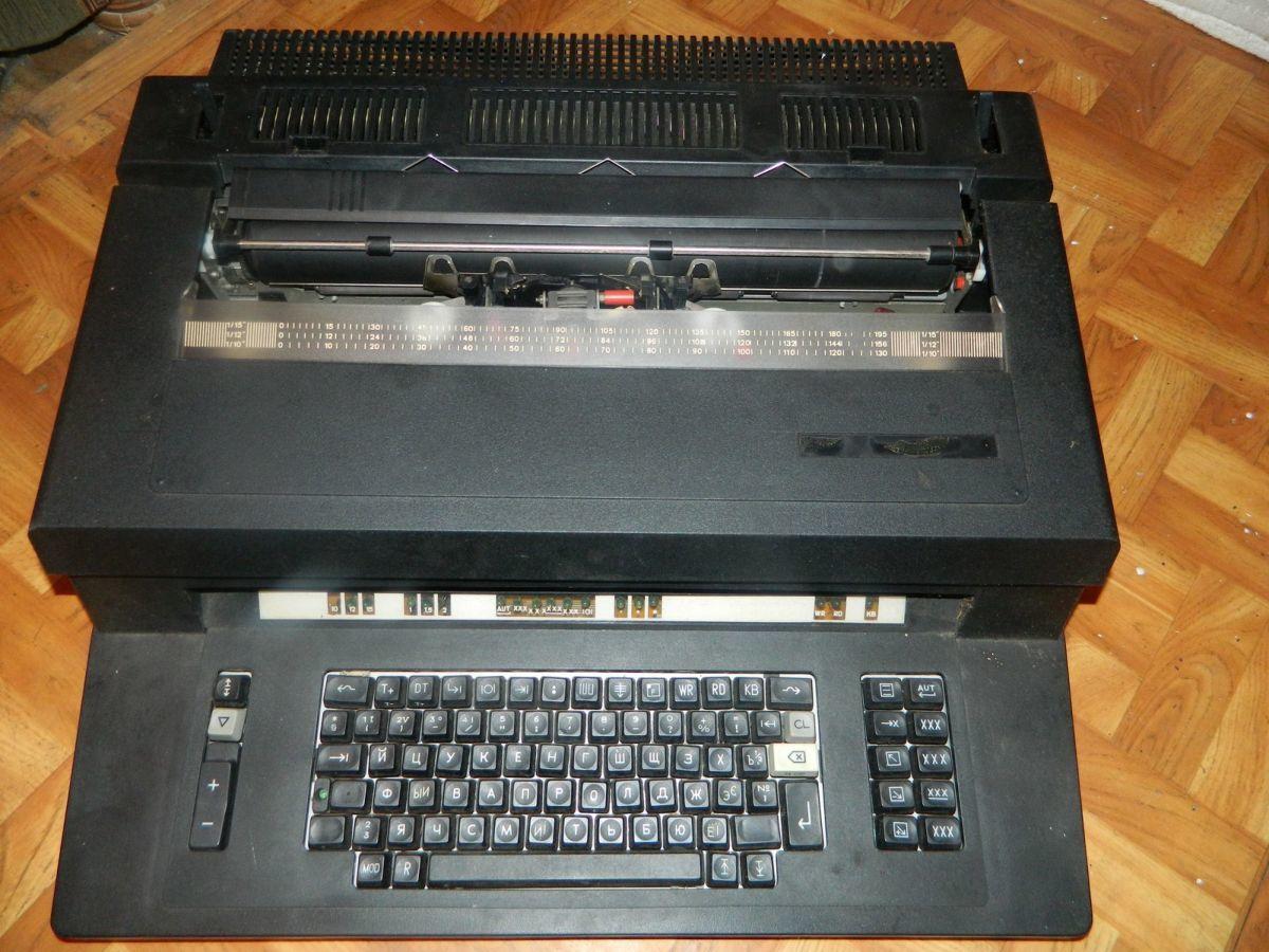 Фото 7 - Печатная машинка Элема