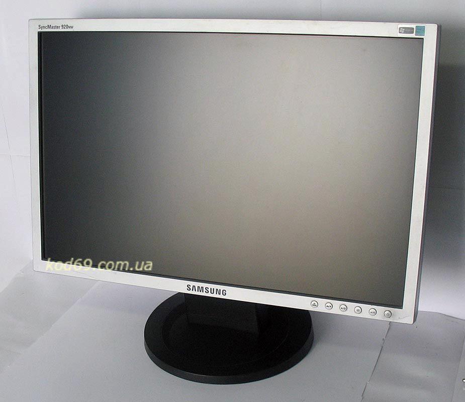 Фото - Монитор Samsung SyncMaster 920NW широкоформатный