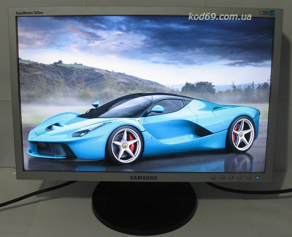 Фото 4 - Монитор Samsung SyncMaster 920NW широкоформатный