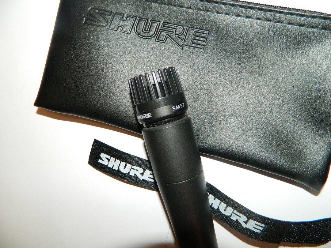 Фото - Инструментальный микрофон SHURE SM 57