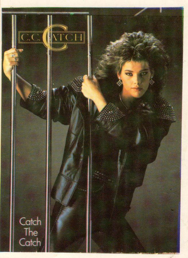 Фото - C C Catch (Наклейка Фирменная) 1986. Germany.
