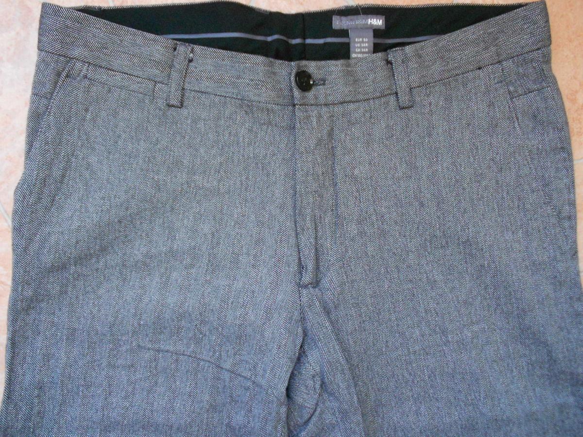 Фото 2 - брюки H&M размер 34-32 slim