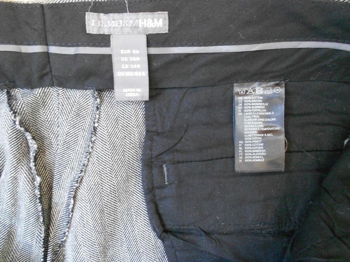 Фото 4 - брюки H&M размер 34-32 slim