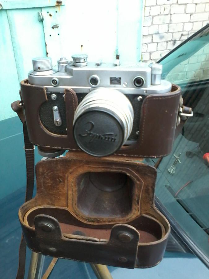 Фото 2 -  Продам фотоапарат зоркий2с