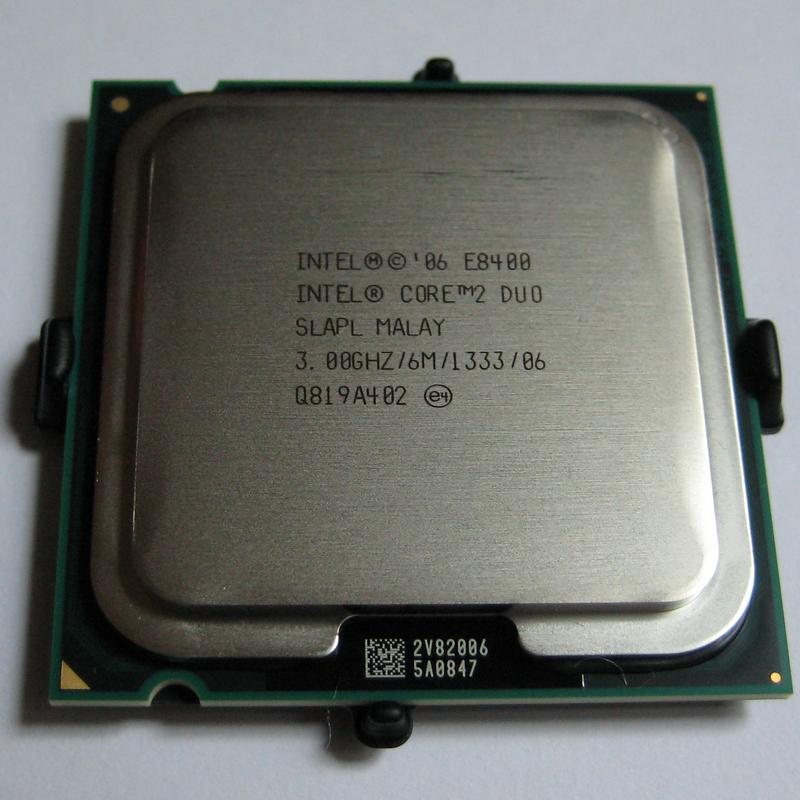 Фото - мощный проц 2 ядра S 775 Intel Core 2 DUO E8500 s775 ( 2 по 3.16 Ghz)
