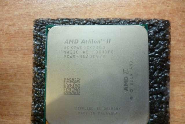 Фото - мощный Процессор AMD sAM3 am2 - ATLON II X2 240 ( 2 ядра по 2.8Ghz AM3