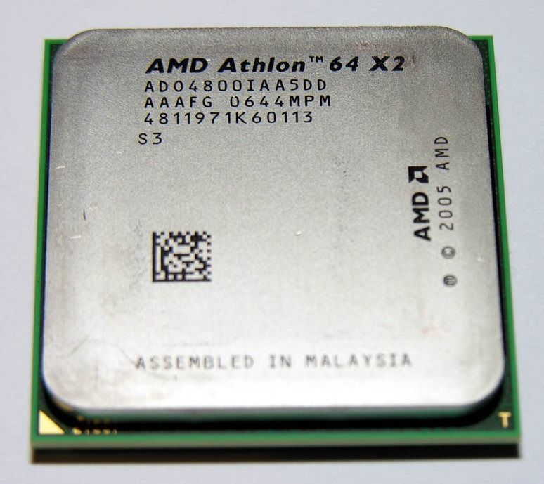 Фото - 2 ядра Процессор AMD ATHLON 64 X2 4800 Socket am2 (2 по 2.5Ghz sam2)
