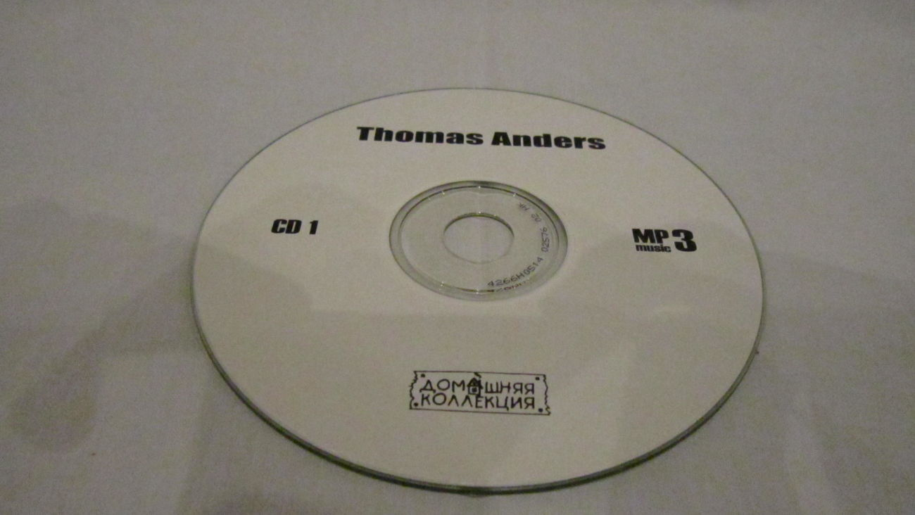 Фото 7 - Thomas Anders (CD-MP 3. 16 Albums) 1989-1993. Disc-1