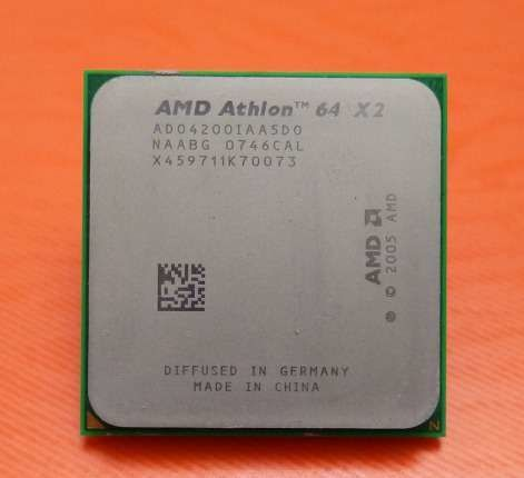Фото - Процессор на 2 ядра AMD ATHLON 64 X2 4200 Socket am2 (2 по 2.2Ghz sam2