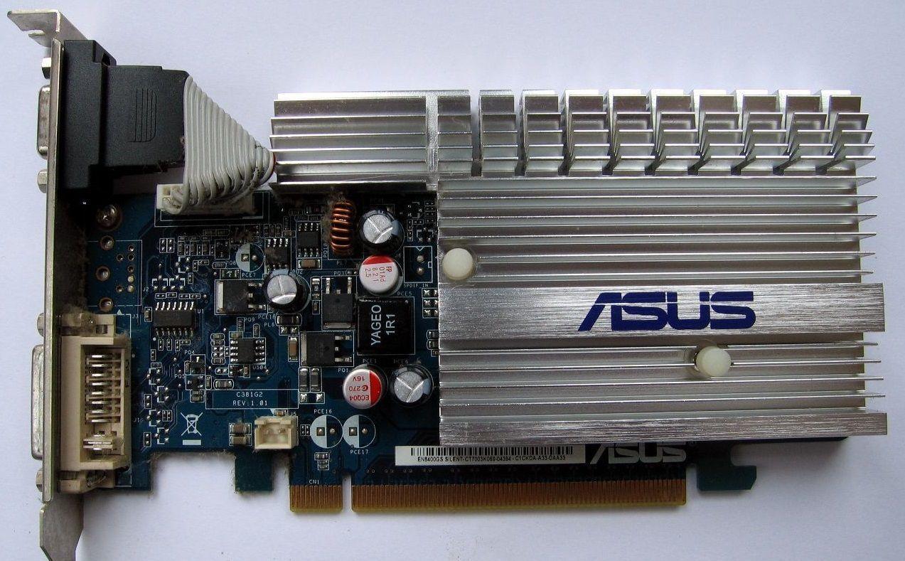 Фото - Видеокарта Pci-E NVIDIA GeForce 8400 GS на 256 Mb с гарантией