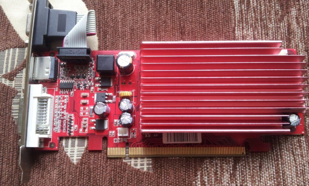 Фото - видеокарта Pci-E Nvdia GeForce 8400 GS на 512 MB с HDMI и гарантией