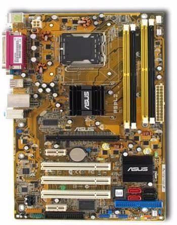 Фото - Плата S775 ASUS P5PL2 i945 на DDR2 под INTEL Pentium 4 и Pentium D 775