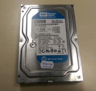 "Фото - Жесткий диск HDD на 250 Gb IDE 3.5"" WD ДЛЯ ПК 250Gb c гарантией"