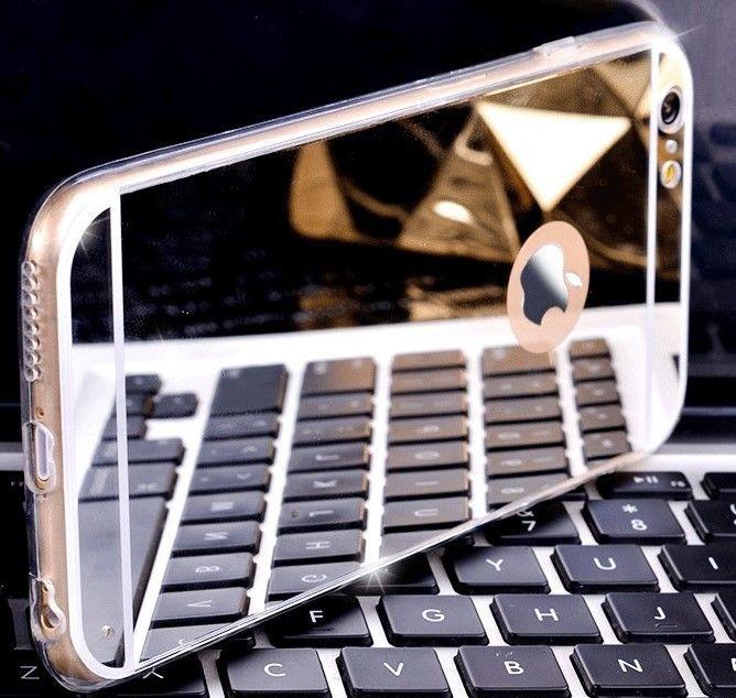 Фото - Чехол бампер для айфон 4 4S/5 5S/ 6 6S/6 плюс/7 7+ зеркальный
