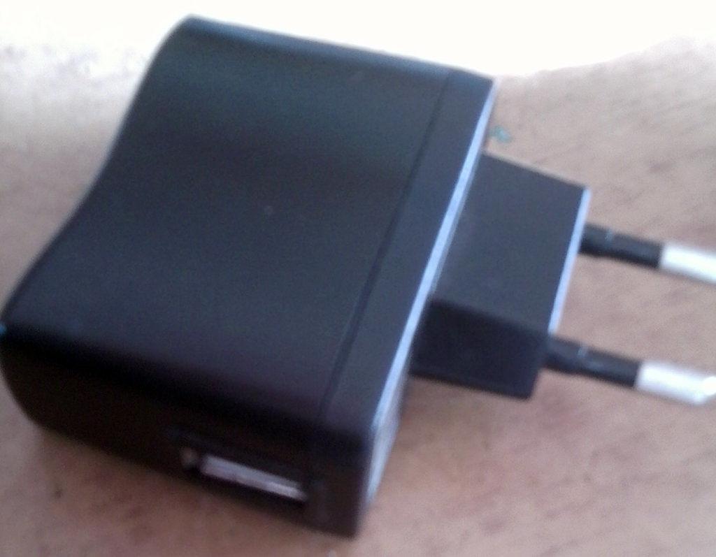 Фото 3 - Переходник-Адаптер 220 в USB+USB кабель