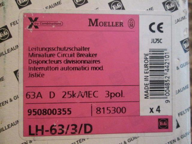 Фото 4 - Автоматический выключатель,автомат F&G(Moeller)63A