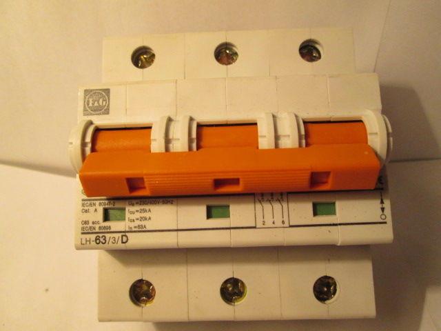 Фото - Автоматический выключатель,автомат F&G(Moeller)63A