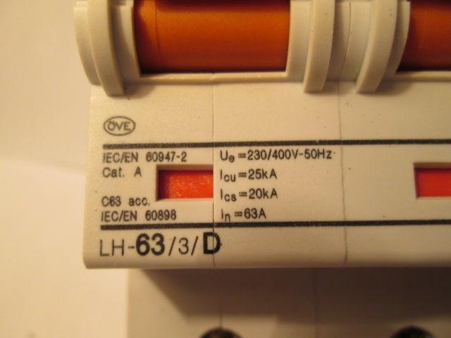 Фото 5 - Автоматический выключатель,автомат F&G(Moeller)63A