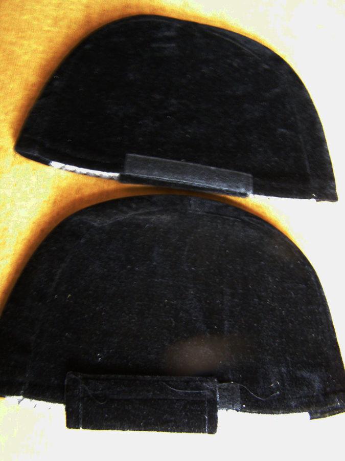 Фото 2 - Велюровые чехлы на подголовники