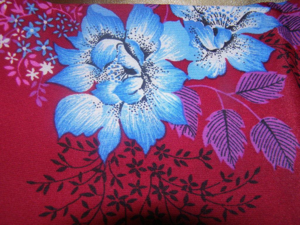 Фото - Отрез ткани плотный шелк 1.8 м