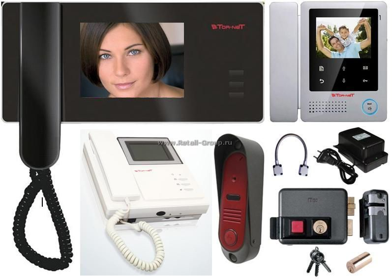 Фото - Монтаж, обслуживание и ремонт видеодомофонных систем