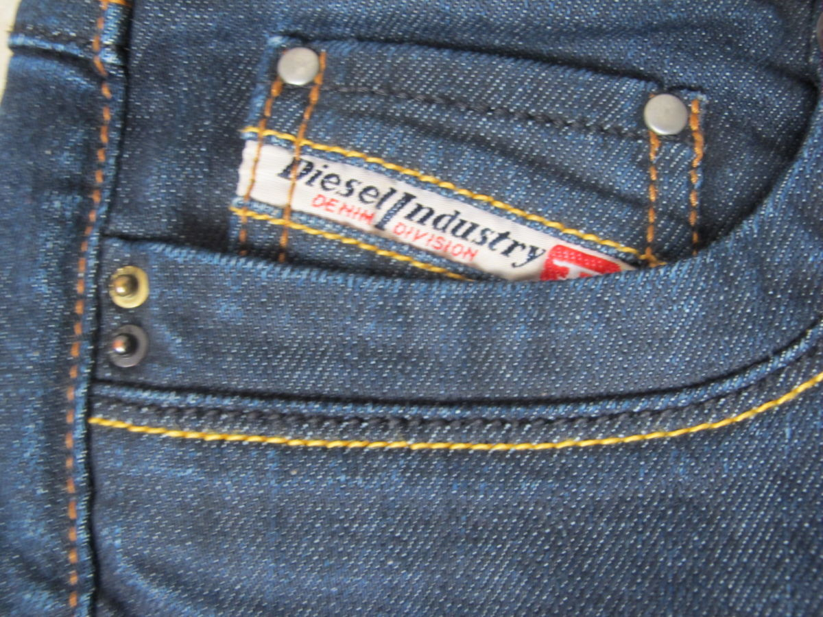 Фото 5 - Синие джинсы Diesel оригинал